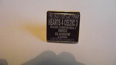 Hearts 1901 Scottish Cup Final badge