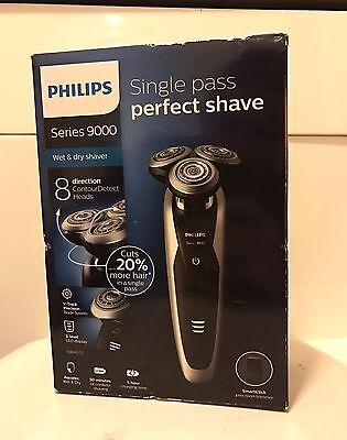 Philips S9041/12 Series 9000 Mens Shaver With SmartClick Brand New Cost £300.00
