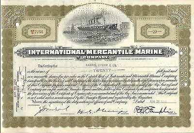 International Mercantile Marine 1933 Harris, Upham