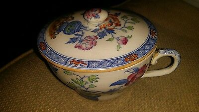Lovely Mason's Ironstone 'Chinese Peony Cup & Lid.