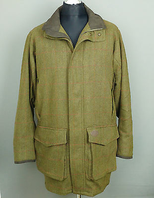 MUSTO TECHNICAL TWEED Shooting Country Hunting Jacket Coat Mens L RRP£549