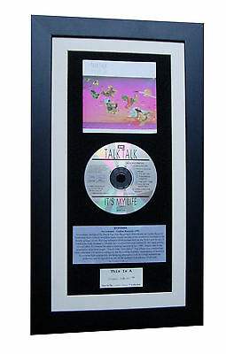 TALK TALK It's My Life CLASSIC Album GALLERY QUALITY FRAMED+EXPRESS GLOBAL SHIP