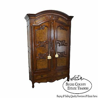 Baker Furniture Co Monumental French Louis XV Style Armoire