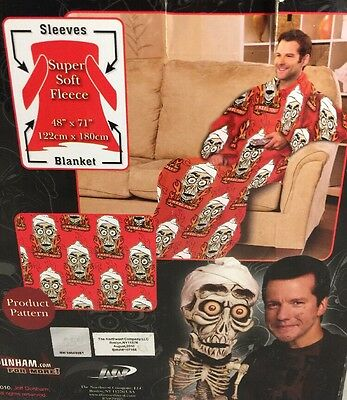 Throw by Jeff Dunham Achmed  Dead Terrorist Skeleton One size With Sleeves new