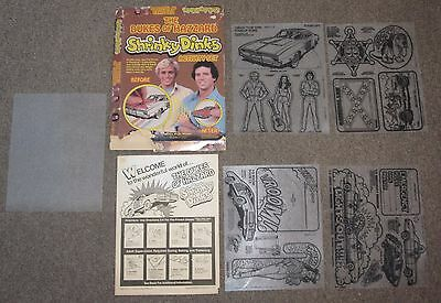 Vintage Dukes Of Hazzard Shrinky Dinks New Unused