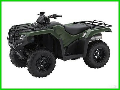 2016 Honda FourTrax Rancher ES New