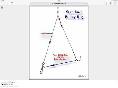 Cornish rigs Big cod pulley rigs size 5/0 top selling rigs x10 top rigs