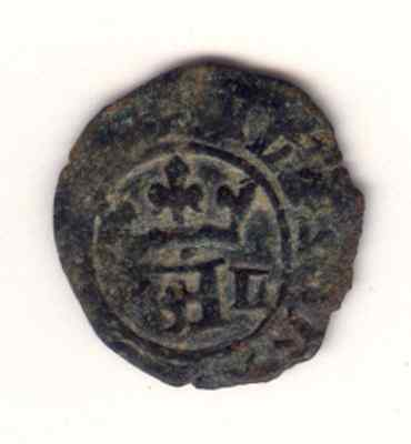 Cincin 19.Nice Coin Half Real Portugal Medieval Lisboa?,to Identify.
