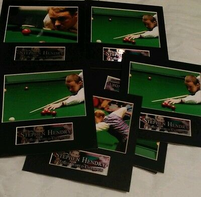Stephen Hendry pictures