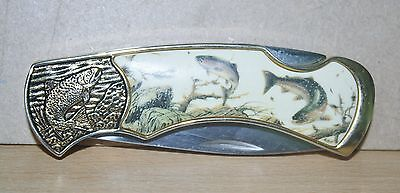 Franklin Mint Trout Knife