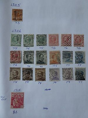 Italy collection of 47 stamps