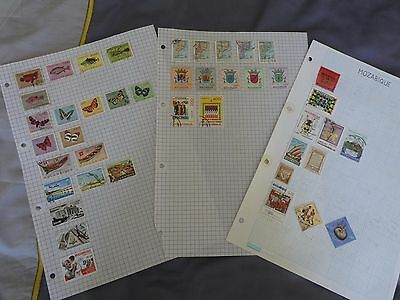 Mozambique collection of stamps - 43 stamps