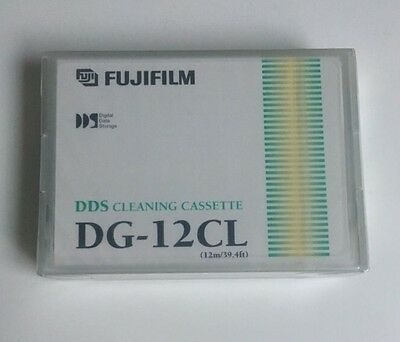 NEW, Sealed  FujiFilm DG-12CL 12m DDS Cleaning Cassette       d4a