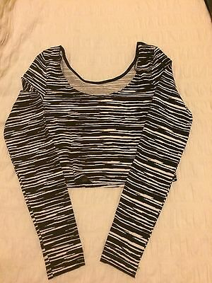 Girls Long Sleeved Cropped Top H&M