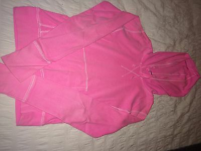 NEW LOOK Girls Pink Hoodie Age 12