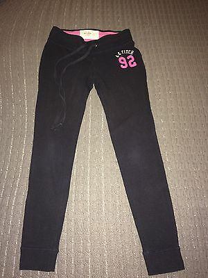 ABERCROMBIE & FITCH Girls Navy Sweatpants Size XS