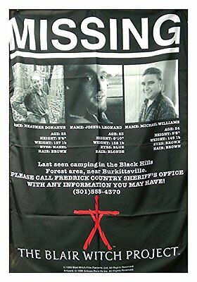 Blair Witch Project flyer Textile Poster Flag
