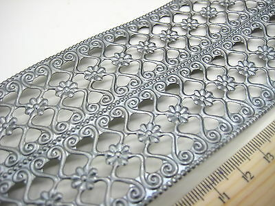 METAL TRIM RIBBON Lace Ironworks Embossed Mixed media Miniatures #13