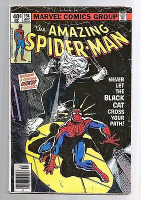 The Amazing Spider-Man #194 (1963) VG 1st Black Cat