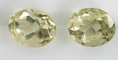 Great pair of 2 Oval Cut Citrine 4.64 Carats