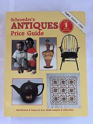 Schroeder's Antiques Price Guide (1990, Paperback) 8th Edition