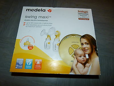 Medela Swing Maxi Double Electric 2 Phase Breast pump With Calma ,