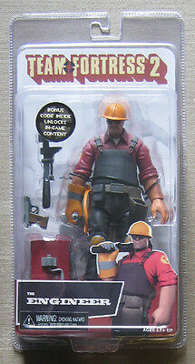 Team Fortress 2 Figure RED Engineer New Sealed Action Figure NECA Valve