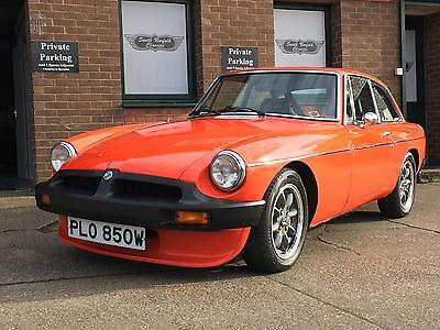 1980 MGB GT, 67000 miles, matching numbers, MOT Jan 2018