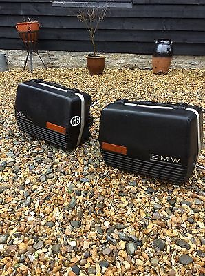 Bmw R100rt R80rt Twinshock Panniers And Frames Complete With Key Airhead Luggage