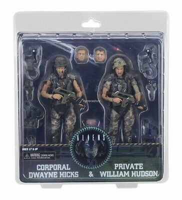 Neca Aliens Hicks & Hudson Figure 2 Pack Marines Special Edition Pre Order
