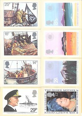 POST OFFICE MINT picture cards. 8 cards issued in 1988. 1891, 1982 & 1983