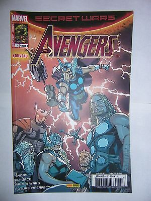 comics marvel SECRET WARS : AVENGERS  N°1