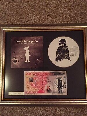 jamiroquai Return Of The Space Cowboy Framed Picture