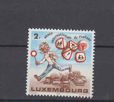 Luxembourg 1979 Year Of The Child Set Mint Never Hinged