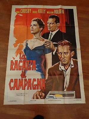manifesto,2F LA RAGAZZA DI CAMPAGNA,Country Girl,GRACE KELLY,Bing Crosby Holden