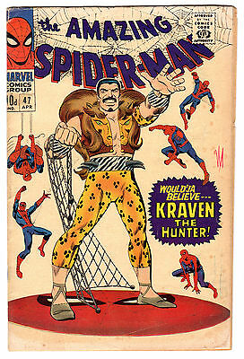 Marvel Comics - Amazing Spider-Man #47 - (1967) Kraven The Hunter