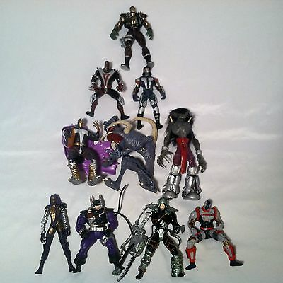McFarlane Action Figure Lot of 10 Spawn Youngblood Wetworks Loose Complete 100%