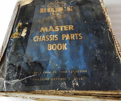 1936-1958 Buick Chassis Parts Book