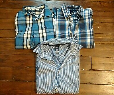 Boys Large Dress Shirts Gap Old Navy Size Large