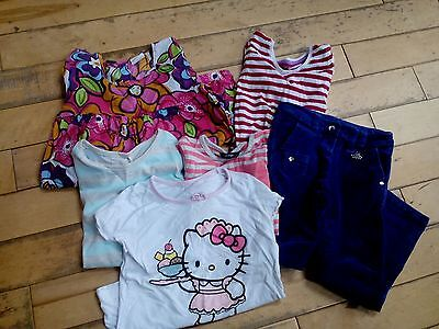 Girls size 5/6 years mixed brands & styles clothing bundle