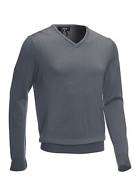 Callaway Golf Merino Wool Sweater Flintstone Grey Large