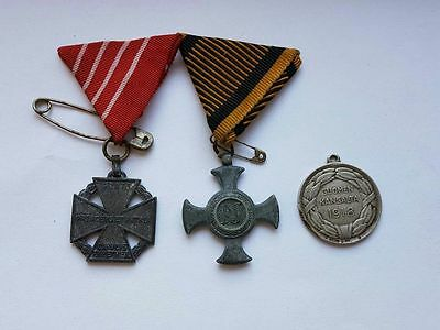 Original Austro-Hungarian Empire, Finland and other military WWI medal!