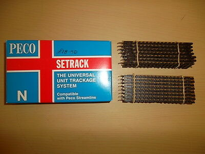 Peco Setrack St-1 Box Of 15.