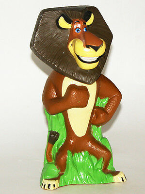 Madagascar ALEX the LION Reusable Plast Shampoo Bottle Dream Works Figure..!