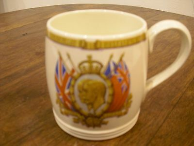 KIng George V Silver Jubilee Commemoration Mug - 1935