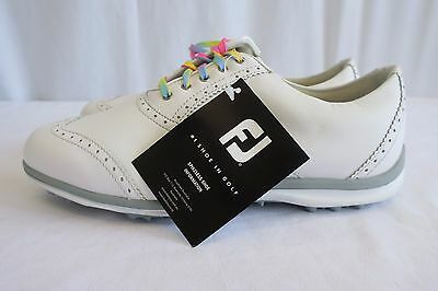 New Footjoy Lopro Casual Golf Shoes Size: 6 Wide – Women'S