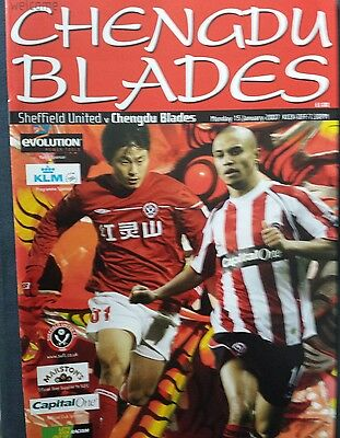 SHEFFIELD UNITED v CHENG-DU BLADES