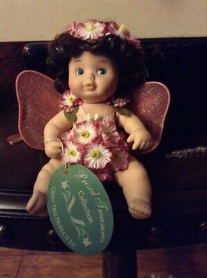 Baby doll with butterfly wings