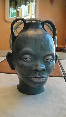 African Face Jug Pottery