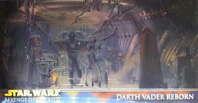 REVENGE OF SITH widevision CARD CHROME SET retail STAR WARS (10)